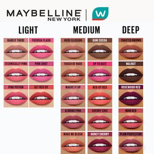 MAYBELLINEPowder Matte Lipstick - Nude Illusion [#PowderYourPout] by Maybelline Color Sensational,Lipstick , Lip Tint and LiplinersWATSONS EMP. DISC.