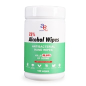 75% Alcohol Antibacterial Hand Wipes 100 pulls 460g