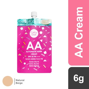 CATHY DOLLAA Automatic Aura Cream SPF45 PA+++ 6g #23 Natural Beige,For WomenHot Summer Drops