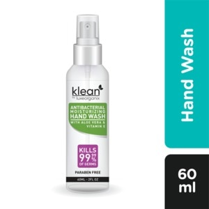 KLEANAntibacterial Hand Wash 60ml,Hand Soap/SanitizersWhat A Splash: All Products