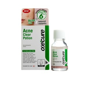 OXECUREAcne Clear Potion 15ml,Facial TreatmentFree (1) Watsons Dermaction Plus Antiacne St20x2 for every purchase of Skin Care products