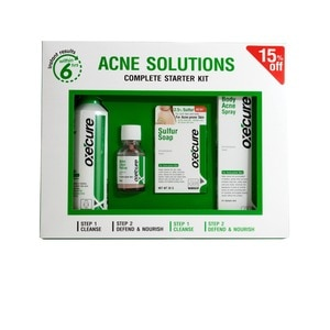 OXECUREAcne Solutions Complete Starter Kit,Facial TreatmentFree (1) Watsons Dermaction Plus Antiacne St20x2 for every purchase of Skin Care products