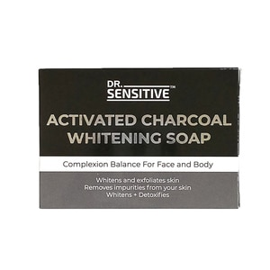 DR SENSITIVEActivated Charcoal Whitening Soap 120g,Bar SoapWhat A Splash: All Products