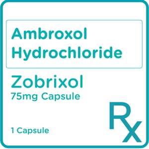 ZOBRIXOLAmbroxol Hydrochloride 75mg 1 Sustained-release Capsule [PRESCRIPTION REQUIRED],Respiratory Drugs