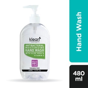KLEANAntibacterial Hand Wash 480ml,Hand Soap/SanitizersWhat A Splash: All Products