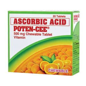 POTENCEEAscorbic Acid 20 Chewable Tablets,Multivitamins and Overall WellnessBest Selling Products