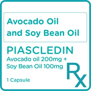 PIASCLEDINAvocado oil 200mg + Soy Bean oil 100mg 1 Capsule [PRESCRIPTION REQUIRED],Neuro and Pain Medicines