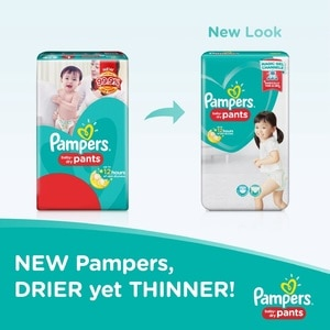 PAMPERSBaby Dry Extra Extra Large Diaper Pants 22s,Pants DiapersHot Summer Drops