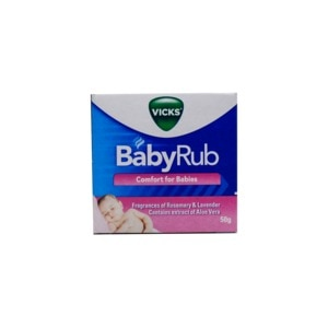 VICKSBaby Rub 50g,Multivitamins and Overall WellnessWCFREEDELIVER