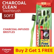 Bamboo Charcoal Toothbrush Soft Buy 2 Get 1 Free