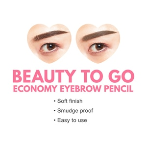 CATHY DOLLBeauty To Go Economy Eye Brow Pencil 0.16g #02 Ash Brown,BrowWCFREEDELIVER