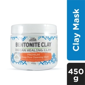 LUXE ORGANIXBentonite Indian Healing Clay 450g,For WomenEarth Day Sale
