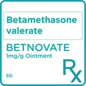 Betamethasone valerate 0.1% Topical Ointment 5g [PRESCRIPTION REQUIRED]
