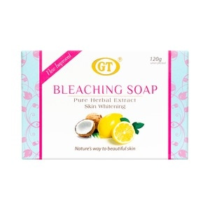 GT COSMETICSBleaching Soap 120g,Bar SoapFREE (1) Derma C Face Mask for every purchase of P800 worth of skin care items