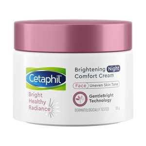 CETAPHILCetaphil Brightening Night Comfort Cream 50g [with Niacinamide and Sea Daffodil],For WomenBest Selling Products