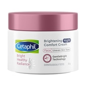 Cetaphil Brightening Night Comfort Cream 50g [with Niacinamide and Sea Daffodil]