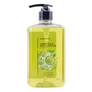 WATSONSGreen Tea Apple Hand Soap 500ml,Hand Soap/SanitizersWhat A Splash: All Products