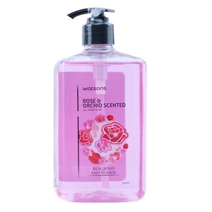 WATSONSRose and Orchid Gel Hand Soap 500ml,Hand Soap/SanitizersWhat A Splash: All Products