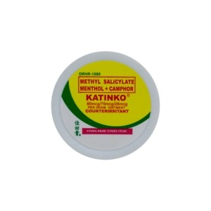KATINKOCamphor + Menthol + Methyl Salicylate  Ointment 5g,Multivitamins and Overall WellnessOTC Campaign