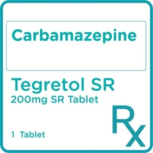TEGRETOLCarbamazepine 200mg 1 Sustained-release Tablet [PRESCRIPTION REQUIRED],Neuro and Pain Medicines