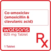 Co-amoxiclav 625mg 1 Tablet [PRESCRIPTION REQUIRED]