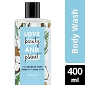Coconut Water & Mimosa Flower Aroma Body Wash 400ml