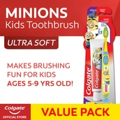 Colgate (CTB) Minions 5-9 + Minions 40g Toothpaste Value Pack