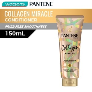 PANTENEConditioner Collagen Miracle Conditioner 150mL,Everyday ConditionerGet 1 Free Maxipeel Sun Protect Cream 15g when you buy any of selected Personal Care products per transaction.