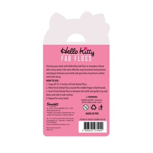 HELLO KITTYDental Floss 50m,Dental Floss and Tongue CleanerAll Must Go Sale