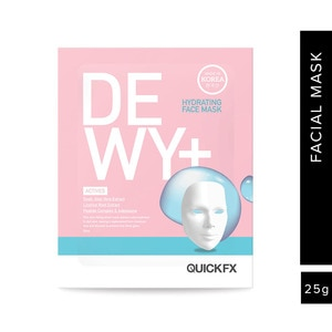 QUICKFXDewy+ Hydrating Face Mask 25ml Limited Edition,For WomenClean Beauty