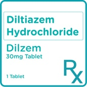 Diltiazem HCl 60mg 1 Tablet [PRESCRIPTION REQUIRED]