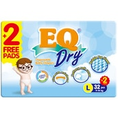 Dry Disposable Baby Diapers L 32s