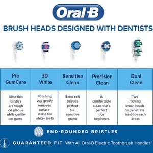 ORAL BDual Clean Refill 2s,ToothbrushSummer Essentials
