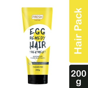 FRESHEgg Remedy Hair Pack Treatment 200g,MasksWhat A Splash: All Products