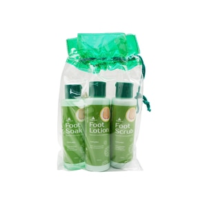 PRETTY SECRETEucalyptus and Peppermint Foot Pack with Pumice 4 x 120ml,Foot CareHELLOWT
