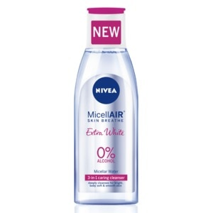 NIVEAExtra White MicellAIR Water 200ml,For WomenClean Beauty