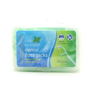WATSONSFlat Thread Mint Dental Flossers Loose Box,Dental Floss and Tongue CleanerBest Selling Products
