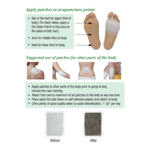 CHI FOOTFoot Patches Trial Pack 2 Patches,Foot Care