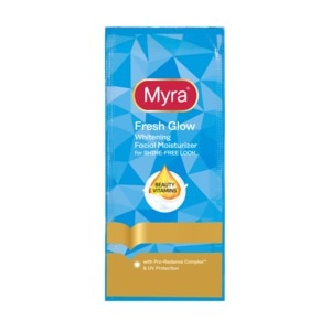 MYRA EFresh Glow Facial Moisturizer 7ml,For WomenFree (1) Watsons Dermaction Plus Antiacne St20x2 for every purchase of Skin Care products
