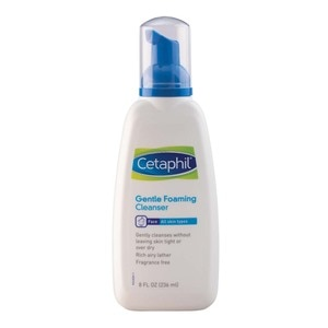 CETAPHILCetaphil Gentle Foaming Cleanser 236ml [For Oily and Sensitive Skin / Hypoallergenic Facial Wash],For Womensensitive skin solutions