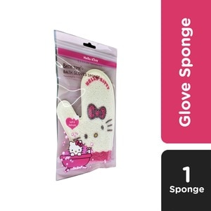 BEAUTY SENSATIONGlove Sponge White,Bath AccessoriesWhat A Splash: All Products