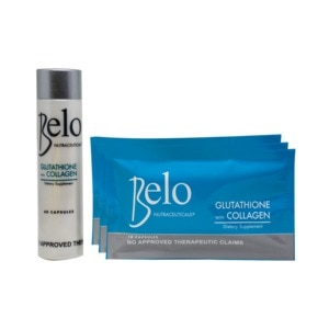 BELO GLUTAGlutathione with Collagen 250mg 60 Capsules With Free 30 Capsules,WhiteningBest Selling Products