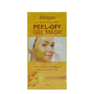 MEGANGold Collagen  Peel Off Clay Mask 10g,For WomenHot Summer Drops