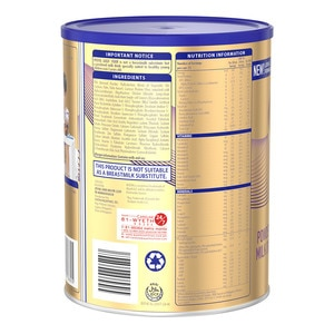 PROMILGold® Four Powdered Milk Drink For Pre-Schoolers Over 3 Years Old Can 900g x 1,Milk FormulaShop Milk 1-5 Years Old