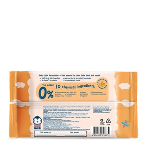 WATSONSHand and Mouth Baby Soft Wipes 20s,Baby WipesWatsons Baby