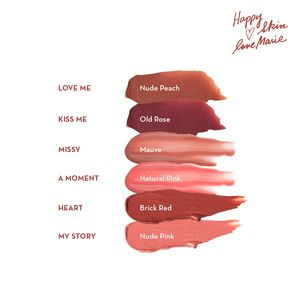 HAPPY SKINHappy Skin x Love Marie Vivid Cotton Lip Mousse in Heart,Lipstick , Lip Tint and LiplinersWATSONS EMP. DISC.