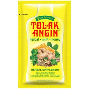 TOLAK ANGINHerbal Supplement 1 Sachet,Multivitamins and Overall WellnessFREE (1) Portable Fan for a minimum P900 worth of purchase on participating items
