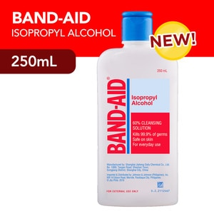 BAND AIDIsopropyl Alcohol 250ml,Alcohol and DisinfectantAntiseptics and Disinfectants