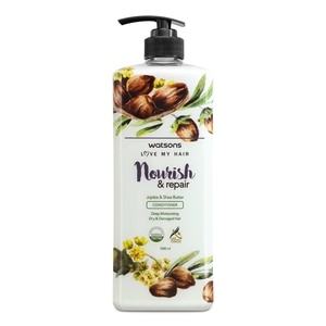 WATSONSNourish and Repair Jojoba and Shea Butter Conditioner 1L,Everyday ConditionerSwitch and Save
