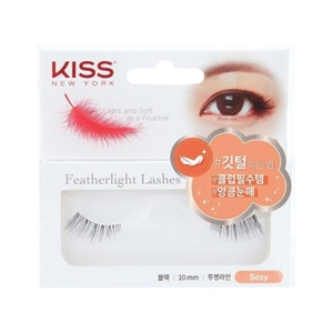 KISSFeatherlight Lashes Sexy,Nail Polish and AccessoriesBABYDOVE1FTY1